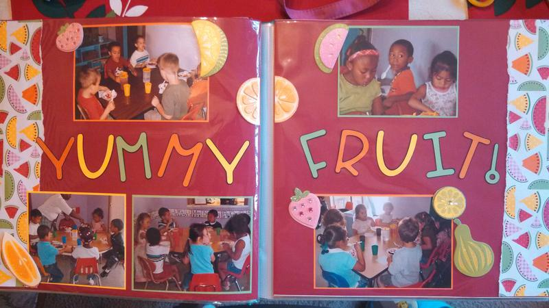 Pre-K Fruit Party 2007 Layout #2