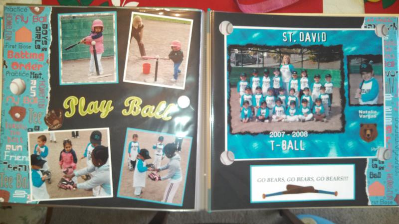 St. David T-Ball 2008-2009 Layout #4