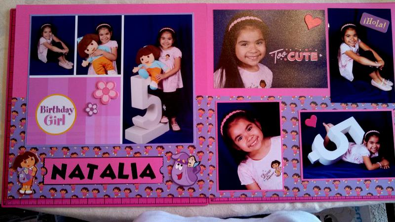 Our Princess' 5 Yr. Portraits