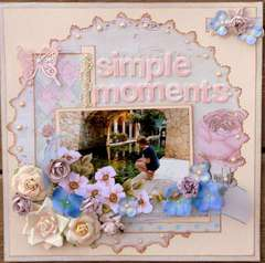 Simple moments - Bling Challenge