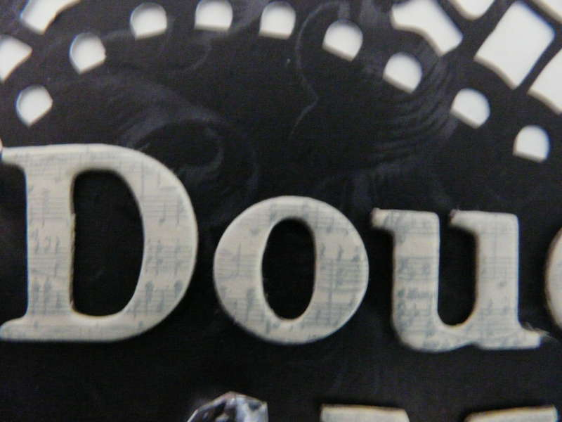 title work for Douce Memoire