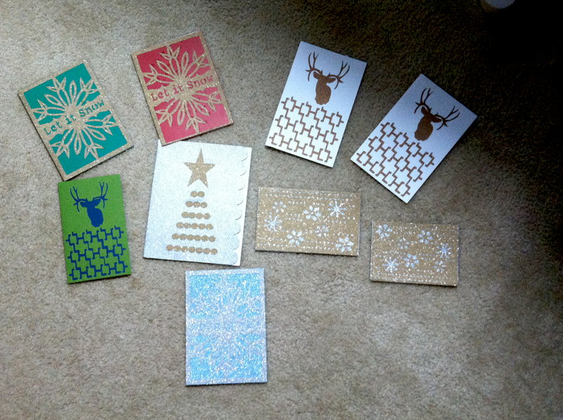 Christmas cards from CCR