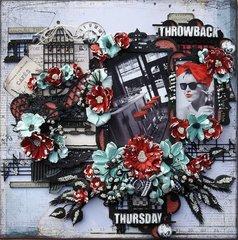 Throwback Thursday ***Dusty Attic Mood Board for July***