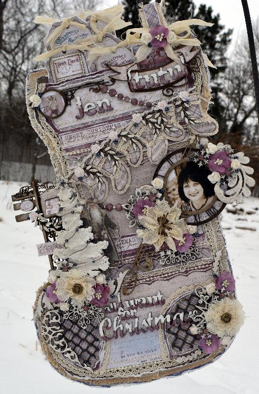 All I want for Christmas****Dusty Attic/Maja Design***