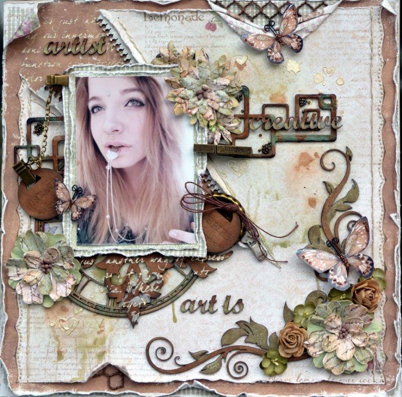 Art is ***Maja Design/Dusty Attic***