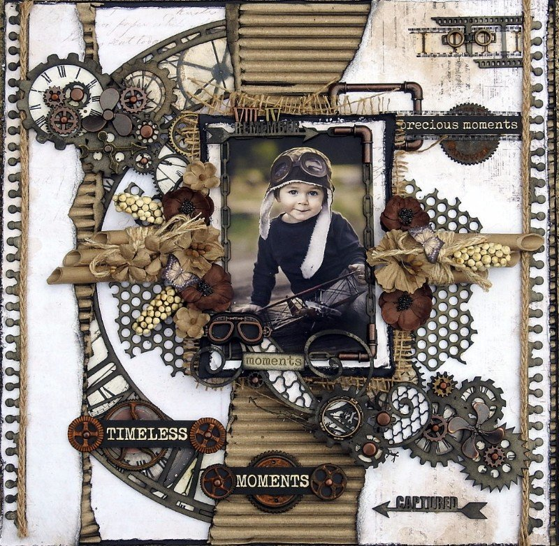 Timeless Moments ***Dusty Attic Mood Board for October***