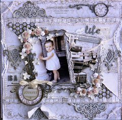 Life is a Journey ***Dusty Attic Mood Board for March***