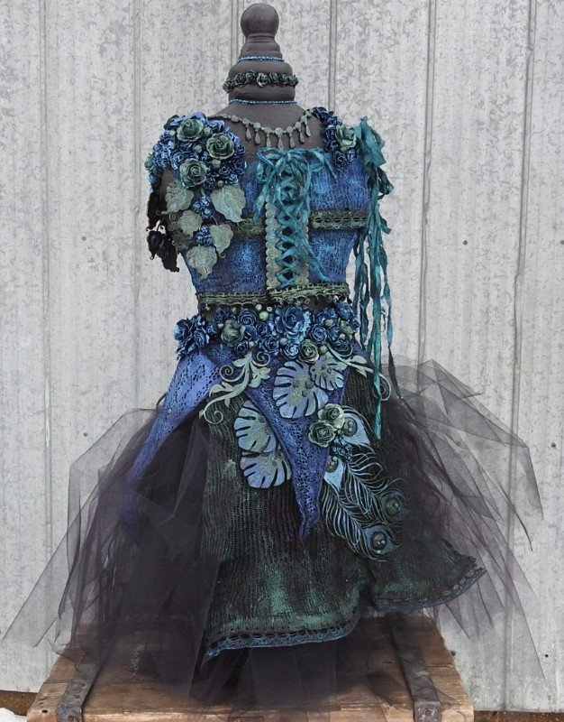 Altered Dress Form ****Dusty Attic****
