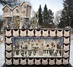 Advent Calender & Bird Houses***Dusty Attic & Maja Design****