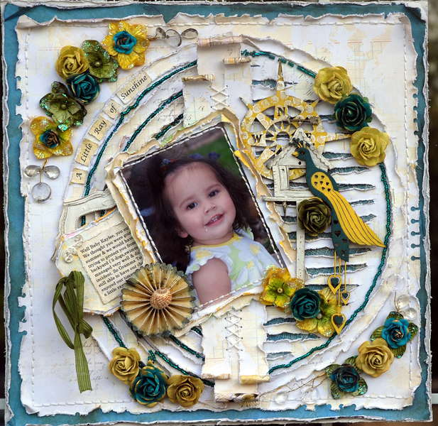 A Little Ray of Sunshine ***CSI #35***Scrap Fx