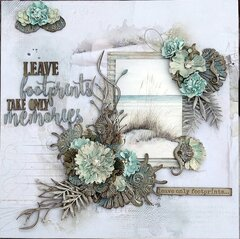 Leave Footprints ***Dusty Attic & 49 and Market***