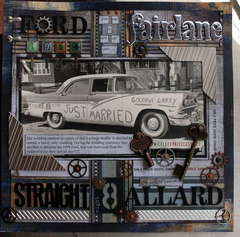 1956 ford fairlane straight 8 Allard