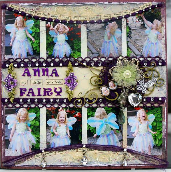 Anna my little garden fairy