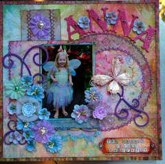 Anna the cutest little butterfly