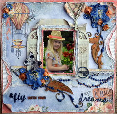 Fly with your Dreams ****The Scrapbook Diaries****