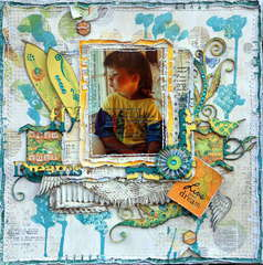 Fly with your Dreams**CSI#39***OUAS***Scrap Fx