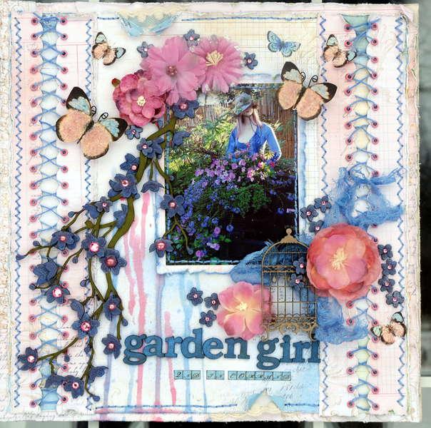 """Garden Girl 2nd in command """"Scraps of Elegance"""""""