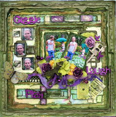 Giggle,Play,Laugh***CSI#46****Scrap Fx