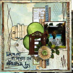 Home is where the Heart is ***CSI#25**(Scrap Fx)**Scraplift Heather Jacob**er