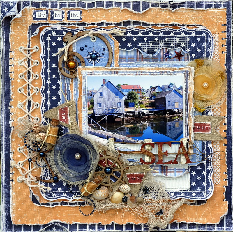 Life by the Sea***Maja Design Mood Board***