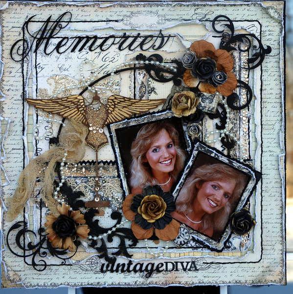 "Memories ""Scraps of Darkness""February Kit (Victoriana)"