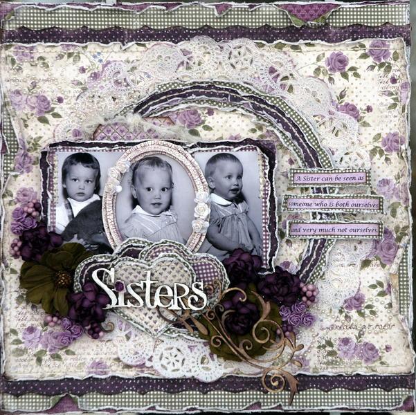 Sisters Love***OUAS***Maja Design***Scrap Fx