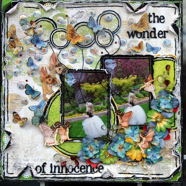 "The wonder of innocence ""Scraps of Elegance"" CSI #11"