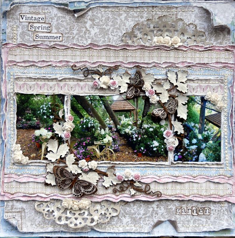 Vintage Spring Summer Garden ****Maja Design****
