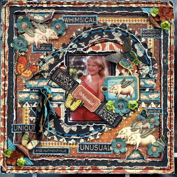 "Whimsical ""Scraps of Darkness"" March Kit Needful Things"