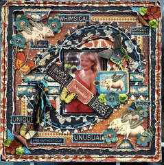 """Whimsical """"Scraps of Darkness"""" March Kit Needful Things"""