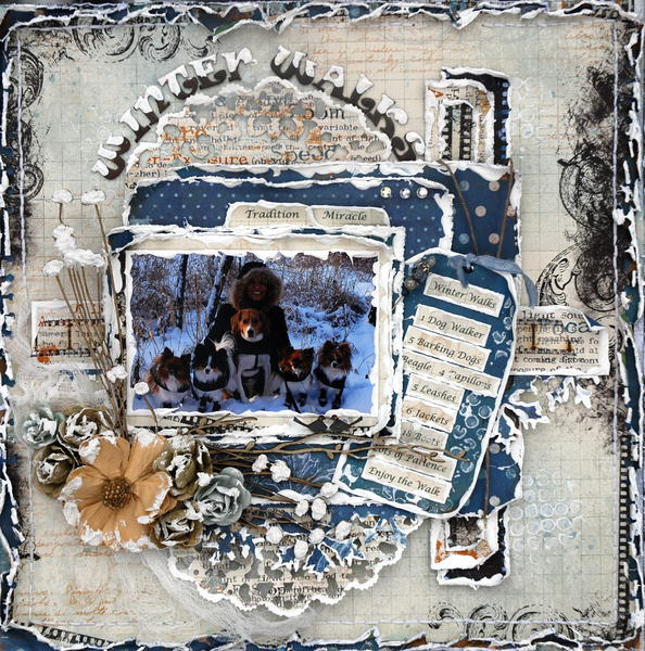 Winter Walks ***CSI #50***Scrap Fx