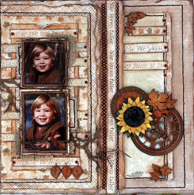Autumn 2nd page ****Maja Design****