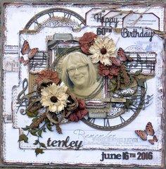 Happy 60th Birthday ***49 and Market***Dusty Attic***