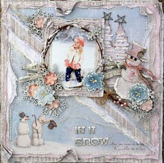 Let it Snow ***The Scrapbook Diaries***