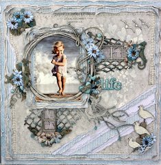 Love Life ***Dusty Attic Mood Board For June***