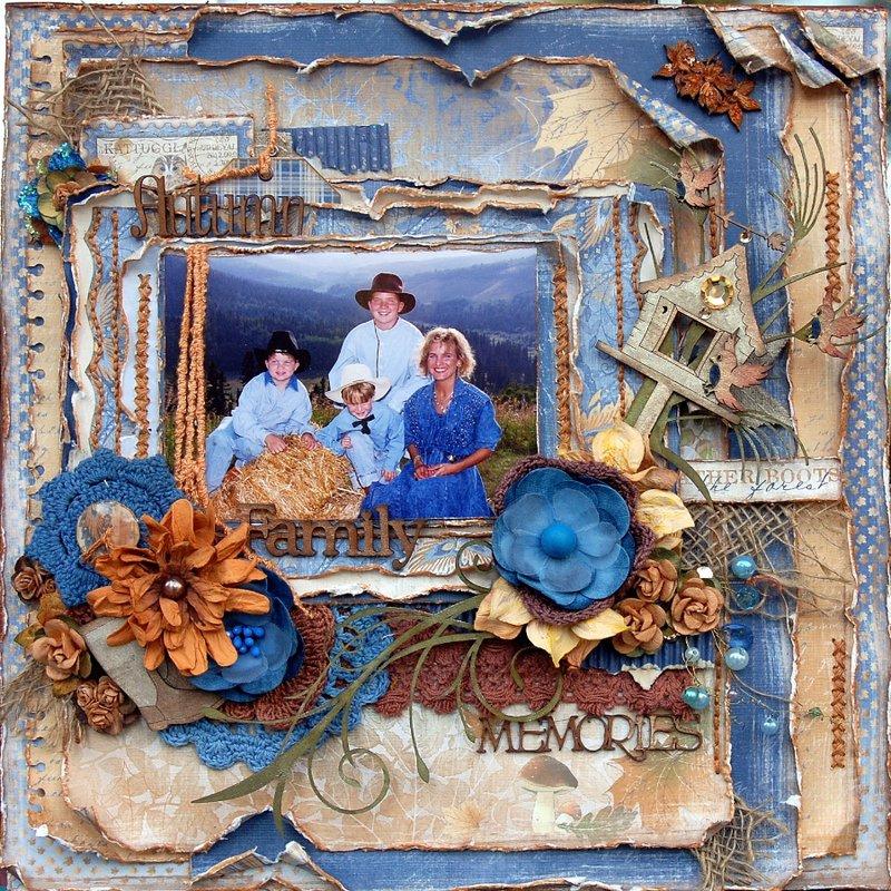 Autumn Family Memories ***Maja Design September Mood Board**