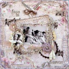 Love to Dance ***Maja Design***Dusty Attic***