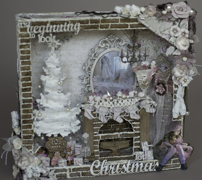 It's beginning to look a lot like Christmas****Dusty Attic