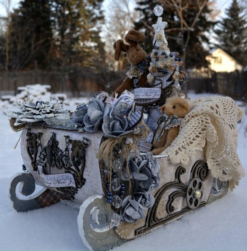 Merry Christmas & Happy New Year ***Maja Design & Dusty Attic***