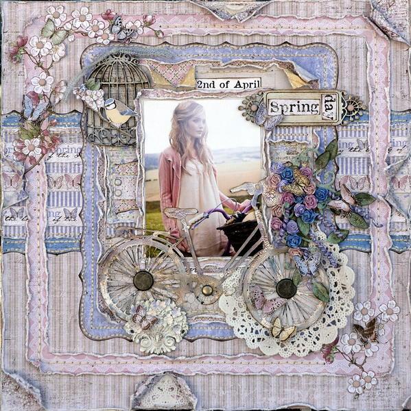 Spring Day  ****Maja Design April Mood Board****