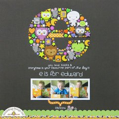 e is for edward *doodlebug*