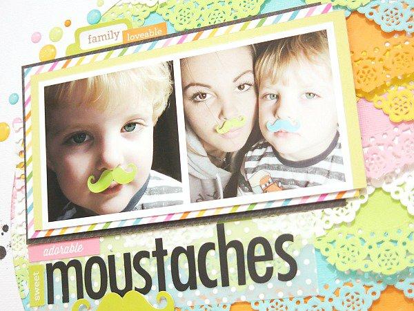 Sweet Moustaches *Doodlebug*