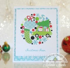 Christmas Cheer - Collage Card