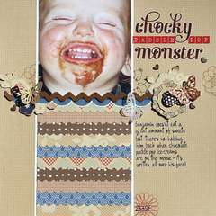 Chocky Monster *Pebbles*