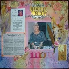 In Loving Memory Mom
