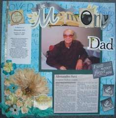 In Loving Memory Dad