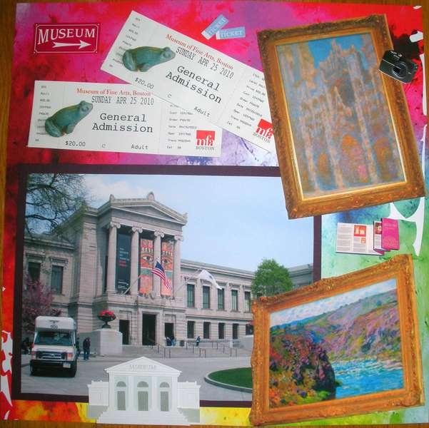 Museum of Fine Arts, Boston Pg 1