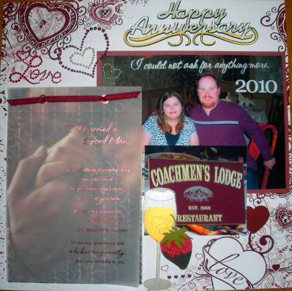 Happy Anniversary 2010