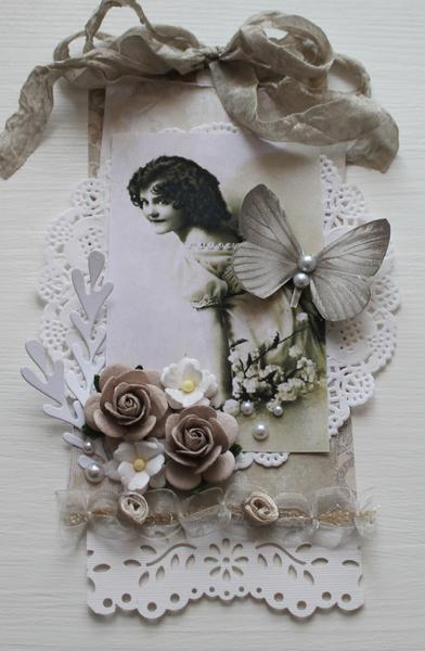 vintage tag card