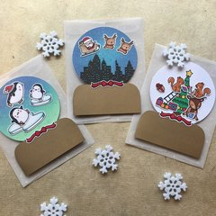 Snowglobe Cards